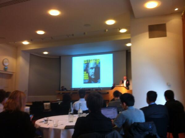 """@Nigel_Shadbolt showing @timberners_lee calling #wired readers to """"save the web"""" #wsirs http://t.co/lgCfQIDvTJ"""