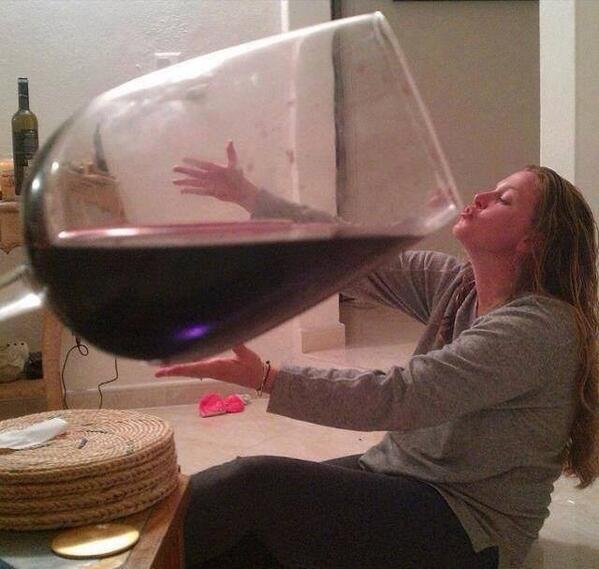 1 glas wein alkohol
