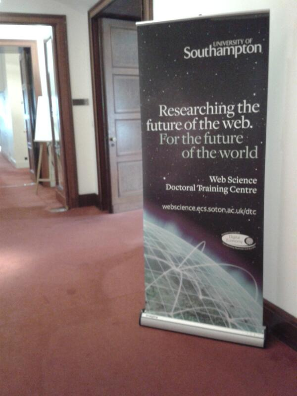 Exciting location for the Web Science Research Week at the Royal Society #wsirs http://t.co/ZMdCDSvVl0