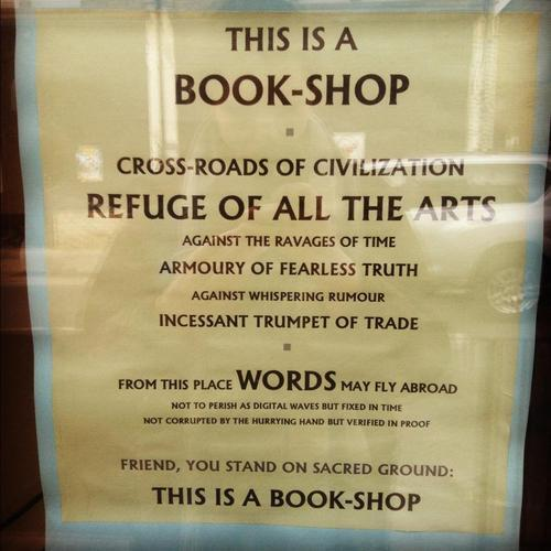 Splendid sign on the door of The Albion Beatnik in Oxford http://t.co/F5sUQxu3tt