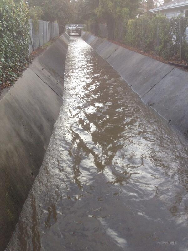 Finally got some rain in the creek! http://t.co/4NTtjKT9Zf