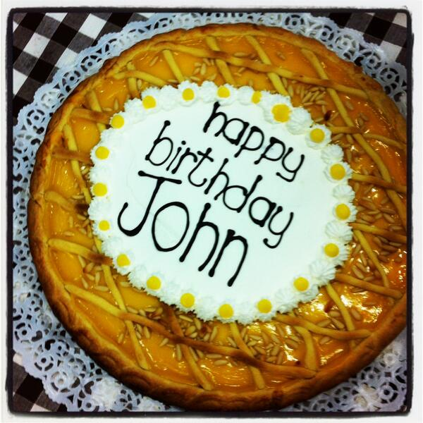 Awesome John Turturro On Twitter Thanks To The Crew For My Birthday Cake Personalised Birthday Cards Sponlily Jamesorg