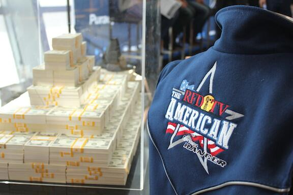 Here's what 2 million dollars looks like, courtesy of @RFDTVAmerican. #payday http://t.co/LHwSsFW8ms