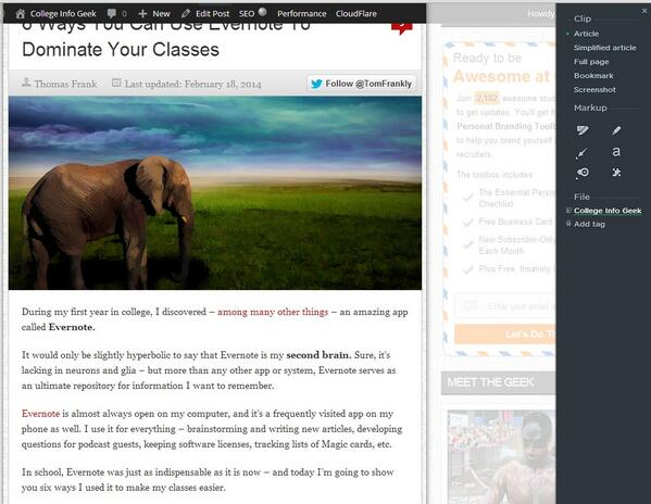 6 Ways You Can Use Evernote To Dominate Your Classes