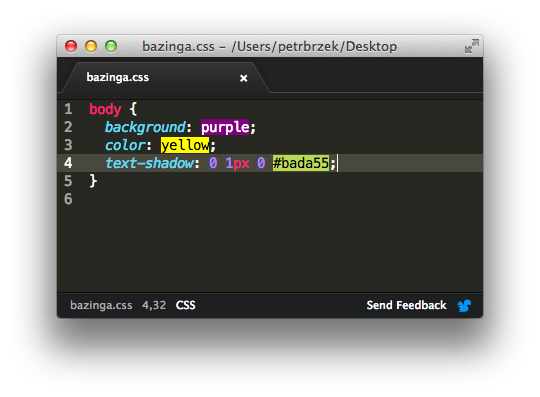 Check out our first @AtomEditor plugin for color highlighting in your CSS files. https://t.co/2IU35IhMt9 http://t.co/sfBGxnL1HC