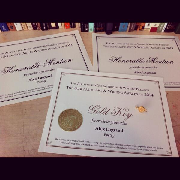 writing awards Since 2009, the norman mailer center has collaborated with the national council of teachers of english to present the mailer student and teacher writing awards.