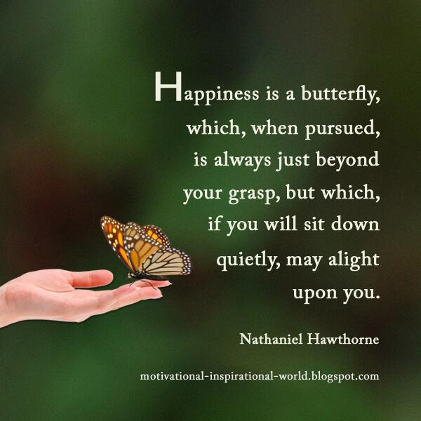 Wright Thurston On Twitter Happiness Is Like A Butterfly