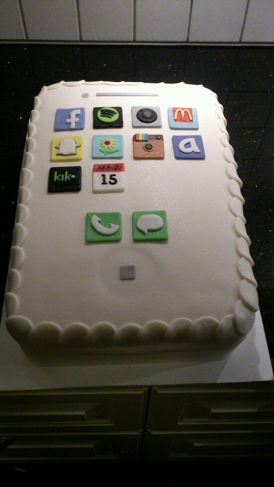Awesome Niklas Ingvarsson On Twitter Birthday Cake For 15 Years Old Anna Funny Birthday Cards Online Fluifree Goldxyz