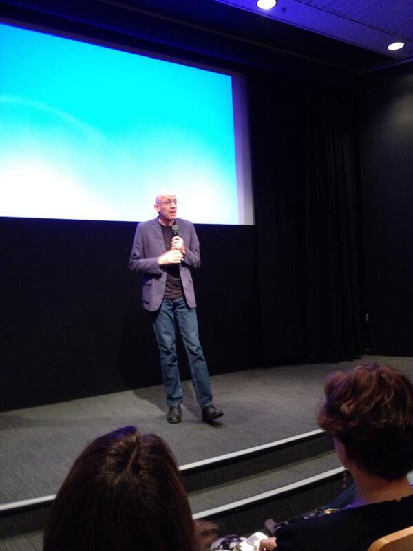 Morris Gleitzman entertaining the delegates at #SLANSWSLD14 @SLANSW http://t.co/qKh4Fps8Pz