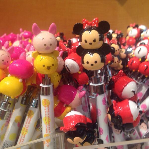 ディズニーストア最新情報♪つむつむボールペンが新登場☆種類は4種類だけど可愛すぎて全部欲しくなります♥