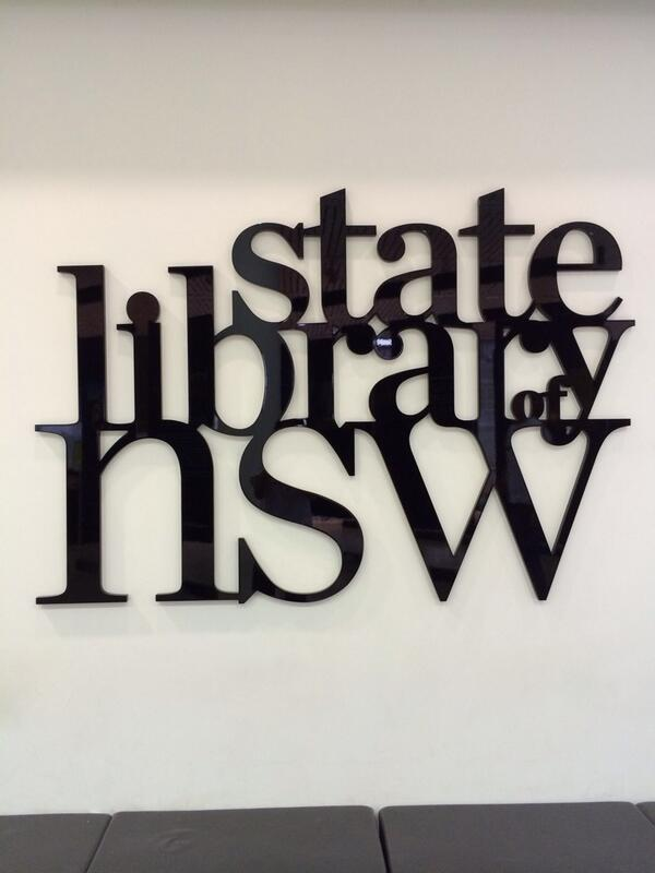 My professional home away from home #SLANSWSLD14 @statelibrarynsw @SLANSW http://t.co/QNIzkRWKY8