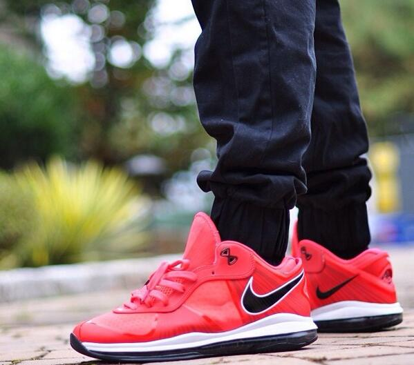 lebron 8 low. lebron 8 low red
