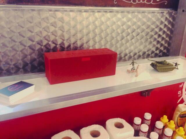 Our new Jawbone by Jambox bringing the sound of @MEATransMission to @TrinityLeeds http://t.co/9R3gciK6nP