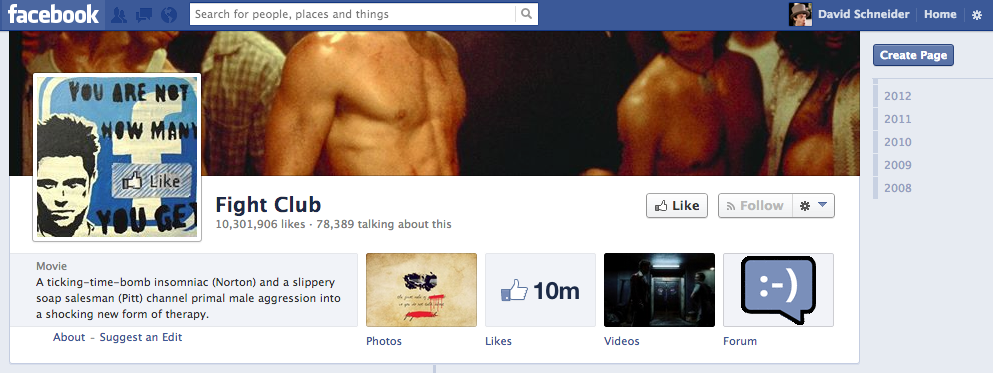 Hard to believe 78,389 people don't even know the first rule http://t.co/yUf4qKEmNg