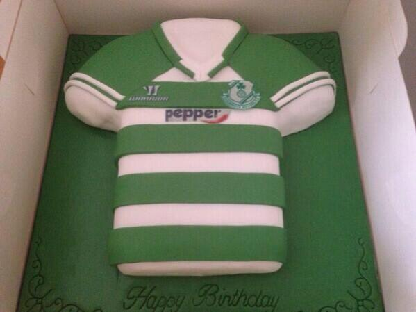 Awe Inspiring Shamrock Rovers Fc On Twitter Now This Is A Birthday Cake Birthday Cards Printable Trancafe Filternl