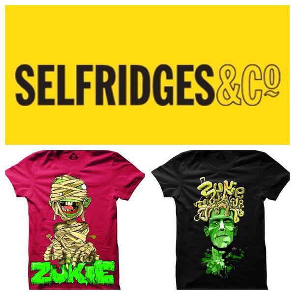 Big week next week we drop the first line of the new Zukie kids @Selfridges London 4th floor . Z http://t.co/MycsEq7Crw