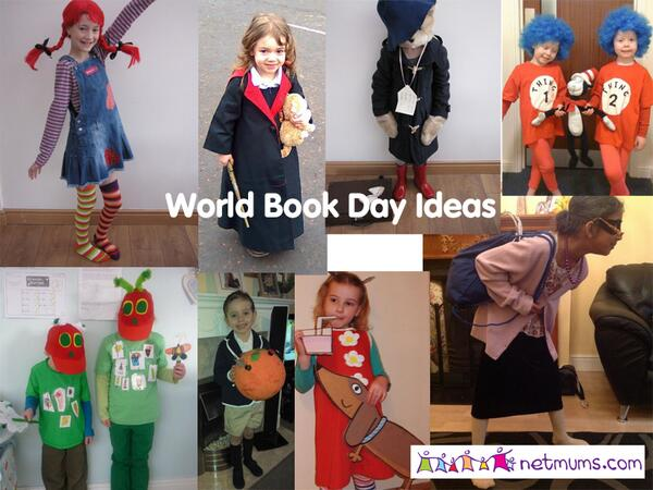 Netmums on Twitter  If youu0027re having #WorldBookDay costume dramas here are handy ideas u0026 easy last minute costumes //t.co/e0OIwpumJH ...  sc 1 st  Twitter & Netmums on Twitter: