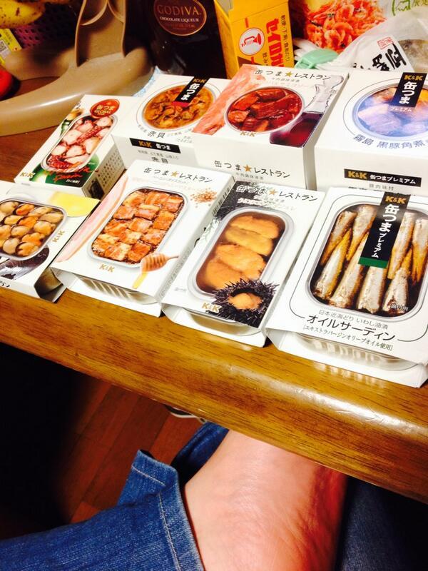 この缶詰シリーズおいしい。 http://t.co/JRdbam4vYY
