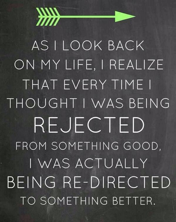 #Growthmindset 101 MT @2morrowknight: Rejection is just redirection apply to #life, change, & #leadership  http://t.co/HRXKtrtNuh  #edchat