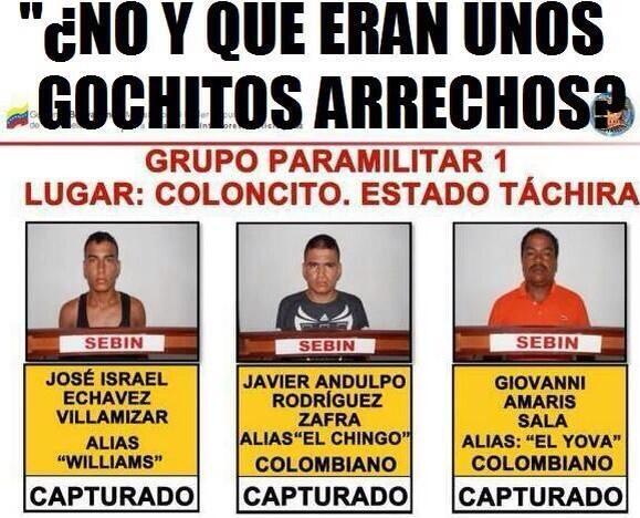 Guarimba subversiva en Venezuela - Página 3 BhpvFz5IYAAjH62