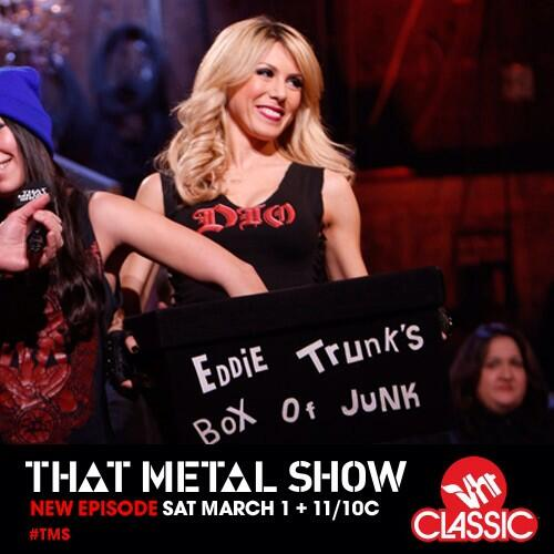 new @ThatMetalShow tonight at 11/10c on @VH1Classic! #TMS RT if you're watching! http://t.co/Q1gD5BYCn1