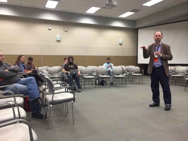 .@CameronNeylon leading the #scioImagine session at #scio14 http://t.co/gXjD9YzEaJ