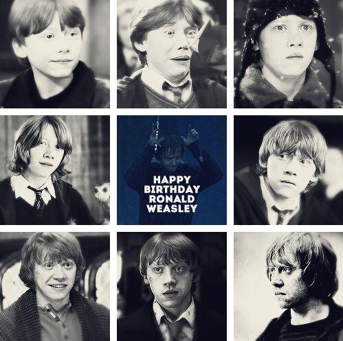 Best friend; husband; King.  Happy birthday to our favourite wizard. #RonWeasley #rupertgrint #harrypotter http://t.co/VdvwV8xSUH