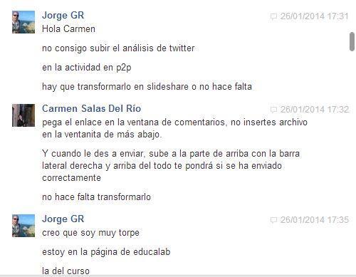 Una evidente ayuda de mi compañera @carmenmoonn de @Palabrasazules_ en @eduPLEmooc que había olvidado, la añado! http://t.co/32g26OCQol