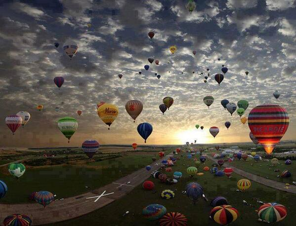 Via @JustinGriggs RT @oneworld365: Largest hot-air balloon gathering in world #France http://t.co/DU6vqrgPyj