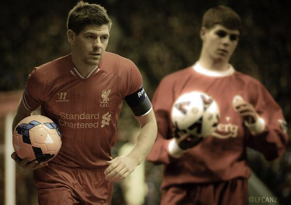 Fantastic work by @NishVeer11 from @LFCANZ with two great #LFC images http://t.co/KCQS5OeOpz