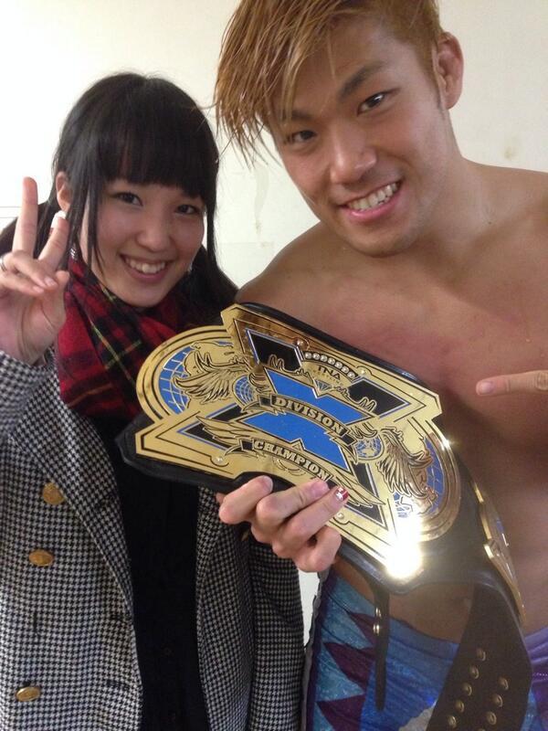 New TNA X Division Champion Seiya Sanada