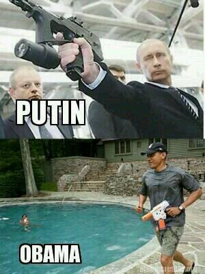 Obama Putin Comparison