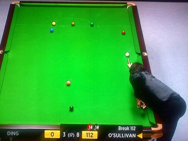 For those who didn't see it, he played the last red here... http://t.co/LhlcTBt1jK