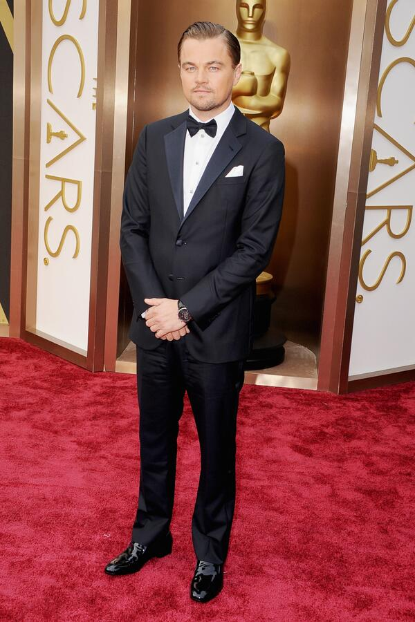 Good to see @LeoDiCaprio was reading @GQMagazine and left his bottom button undone. http://t.co/EORG4PiJOh #Oscars2014 – IHM