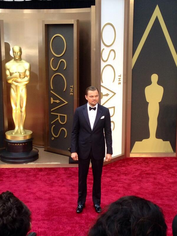 One word. Leo. #ERedCarpet #Oscars http://t.co/fnjJzyyqNZ