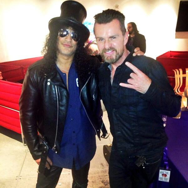 Friends since 1987 @Slash and @TheBillyDuffy #guitarGods #TheCult #GunsNRoses http://t.co/oXzsfjfIr6