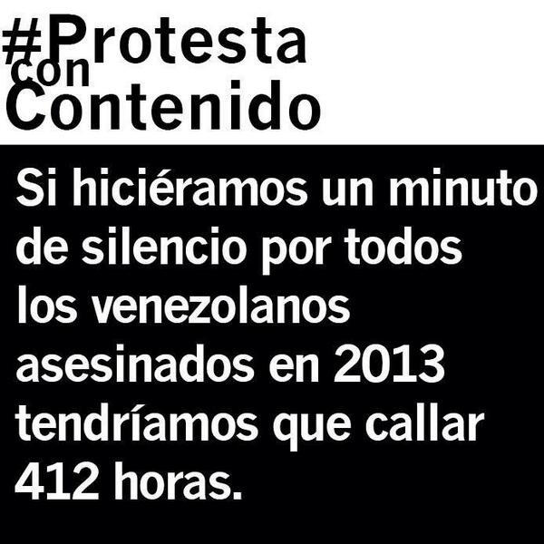 ¿Cuánto callaríamos haciendo un minuto de silencio por los caídos en 2013? 412 horas. #CadaVidaImporta http://t.co/CTBYCEczUG