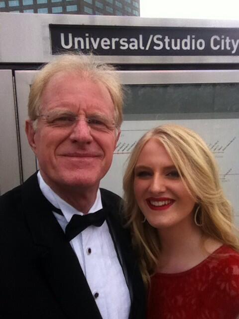 Taking @metrolosangeles to the Oscars w my daughter Hayden. #greenoscars http://t.co/WODp55WOe5