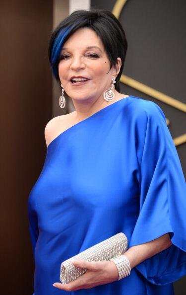 Liza Minelli's blue hair, which we're betting will be one of the most talked-about beauty moments of the night: http://t.co/QykhBfwRiT