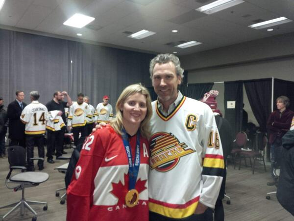 "Great to see you Hayley!!""wick_22: With the one and only @trevor_linden and friend to #wickfest. #heritageclassic http://t.co/dgui3XvhkE"""