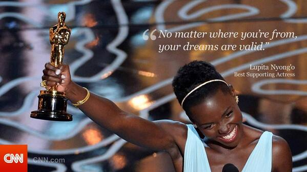 If you are happy for @Lupita_Nyongo #Oscars2014 Win..RETWEET!! #12YearsASlave  #Truthmeter #LupitaNyongo http://t.co/kXaYvKCE6Y