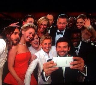 Best selfie ever!!!!! #oscars #oscars2014 http://t.co/V2v97gmTM4