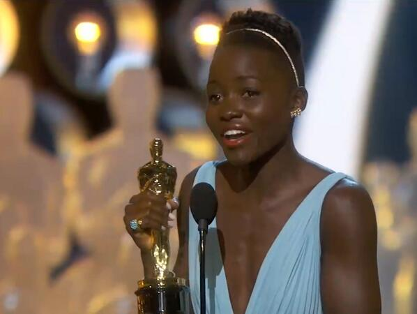 """No matter where you're from, your dreams are valid."" Congratulations @Lupita_Nyongo!! #oscars http://t.co/lAPizvK1oa"