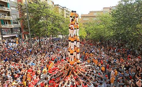 「人間の塔 カタルーニャ」の画像検索結果