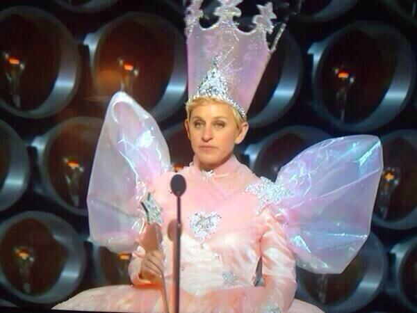 Everyone needs a fairy godmother. We found ours :) #oscars http://t.co/S30e90cye8