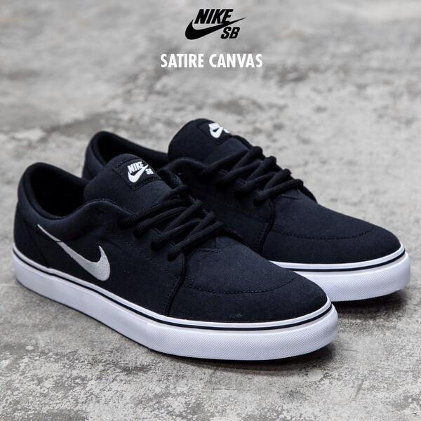 Footasylum On Twitter Nike Sb Satire In Black And Silver 078406