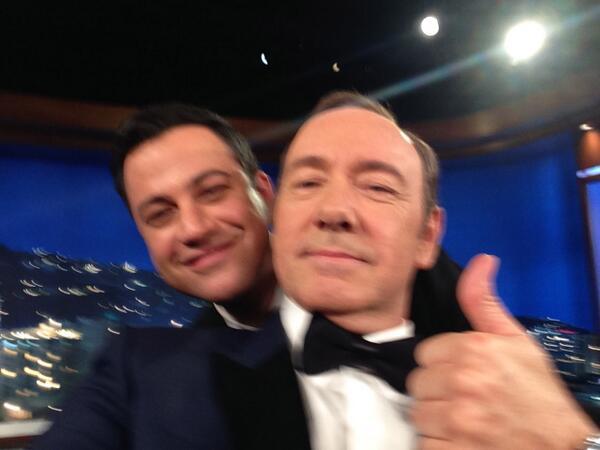 Let's beat @TheEllenShow selfie w @jimmykimmel #photobomb http://t.co/N5qsk9TfaF