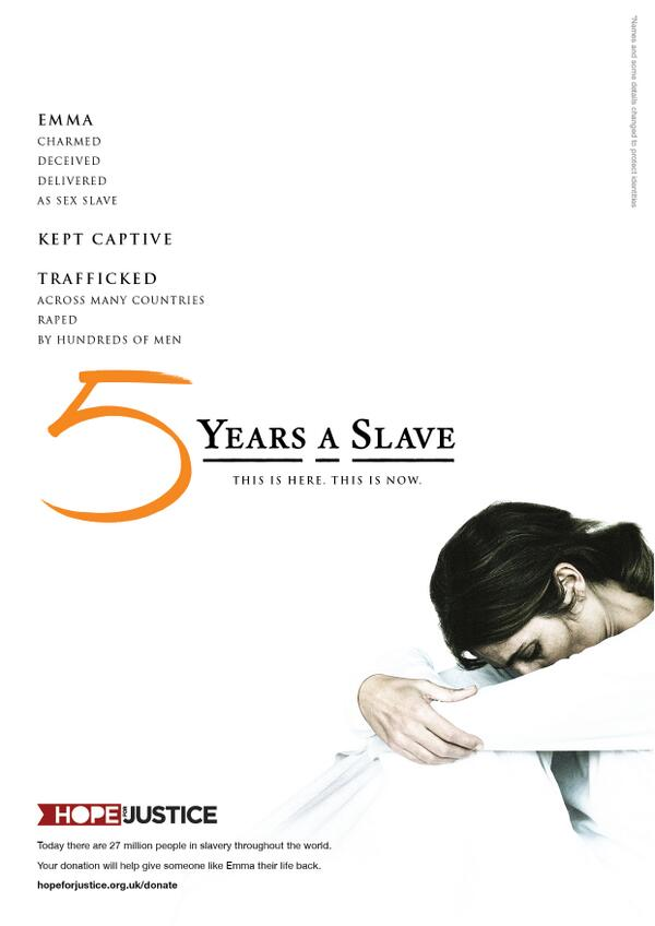 Congratulations to 12 Years a Slave! Sadly slavery is bigger today than the 1840s. #oscars http://t.co/eAsdfztSGI http://t.co/kVf6x4i52m
