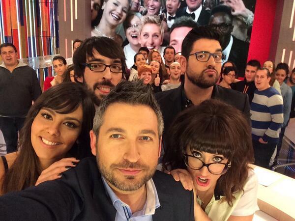 Ahí está el selfie de #zapeando70 @zapeandola6 http://t.co/iEk3mBGFXS