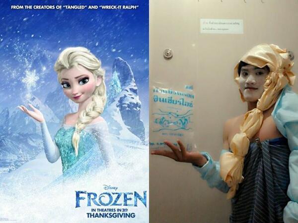 NAIIIIIIILED IIIIIITTTTTTTTTT!!!! #frozen @dre931 http://t.co/KtIsCMwGOD